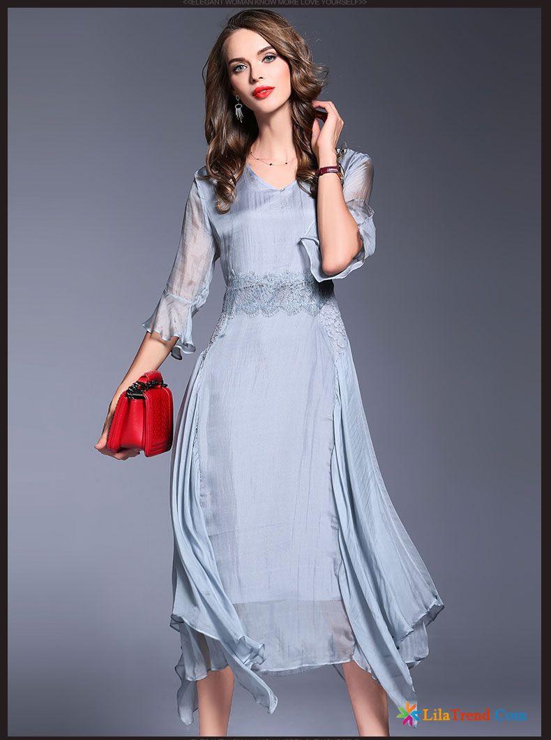 Schöne Lange Kleider Rosa A Schreiben Temperament Neu