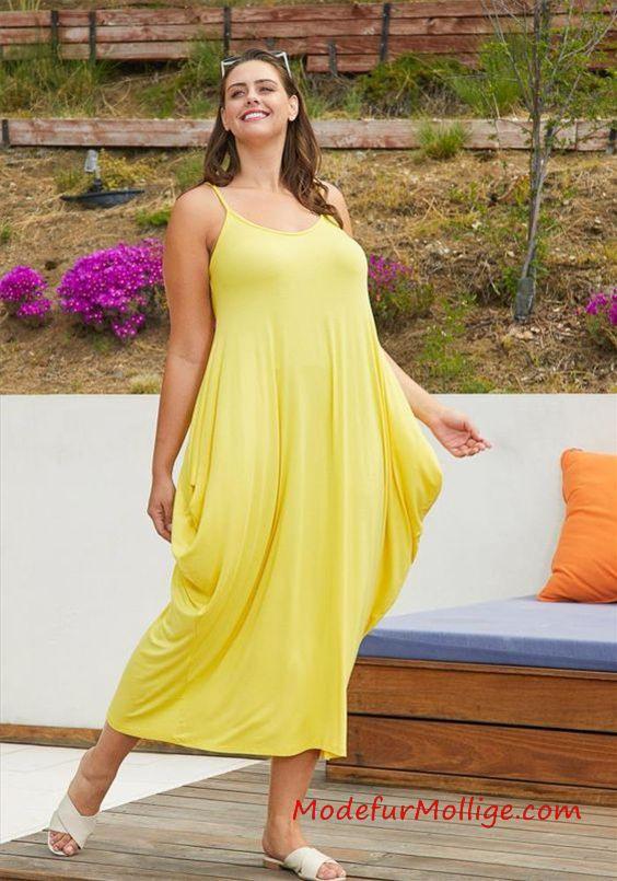 Schöne Und Stylische 2020 Sommerkleider In Großen Größen  Mode Für Mollige Frauen  Seite 3