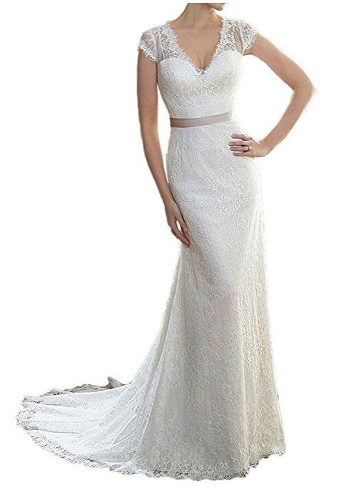 Schönes 50Er Jahre Rockabilly Vintage Brautkleid