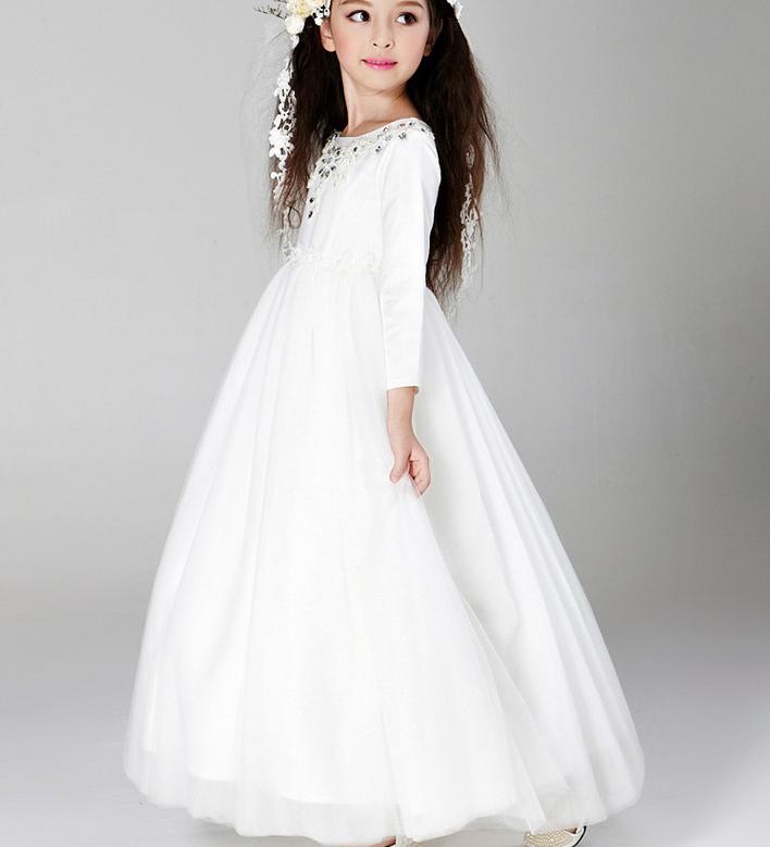 Schönes Baby Mädchen 2015 Heißer Verkauf Kinder Weiße