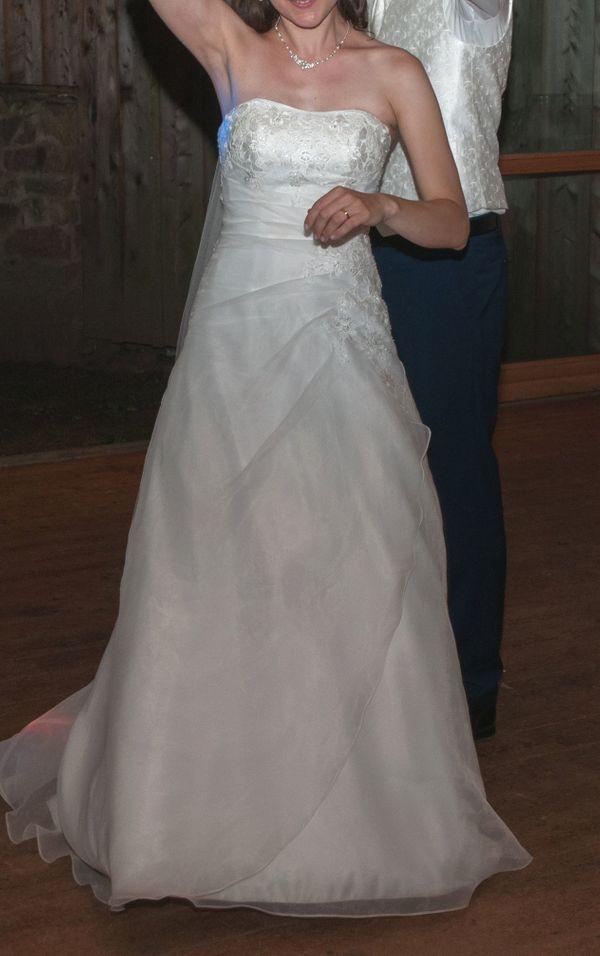 Schönes Schlichtes Hochzeitskleid Gr 36 In Bensheim