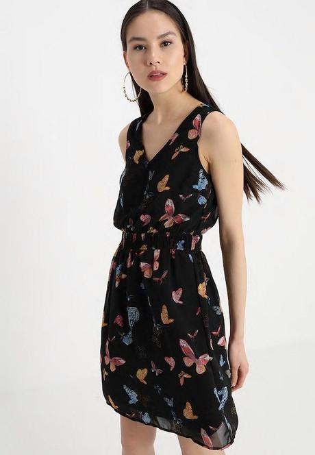 Schößchen Kleid Langarm