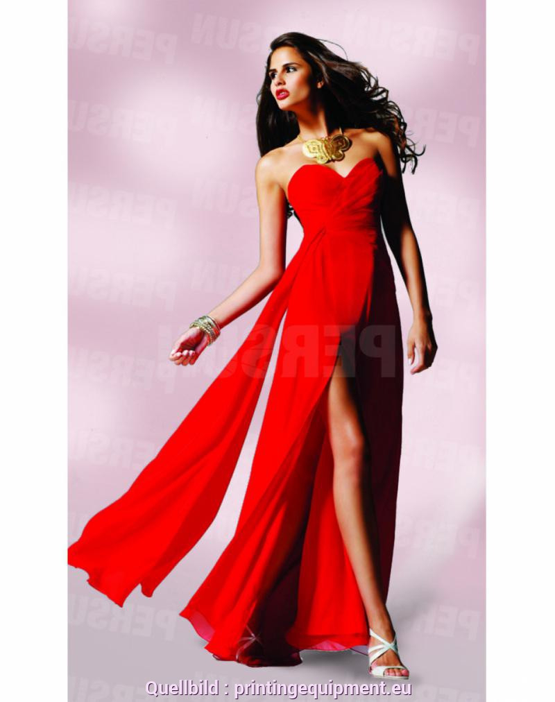 Schrullig Rotes Sommerkleid Lang Rotes Kleid Online Kaufen