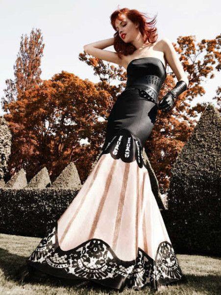 Schwarz Kleider Hochzeitskleid Schwarz Gothic Kleid
