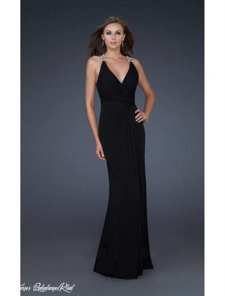 Schwarzes Bodenlanges Kleid  Abendkleider