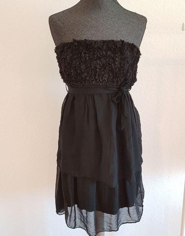 Schwarzes Trägerloses Kleid Kaufen Auf Ricardo