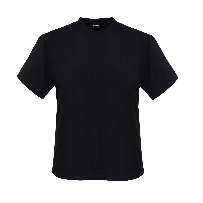 Schwarzes Tshirt Im Doppelpack Von Adamo In Übergrößen