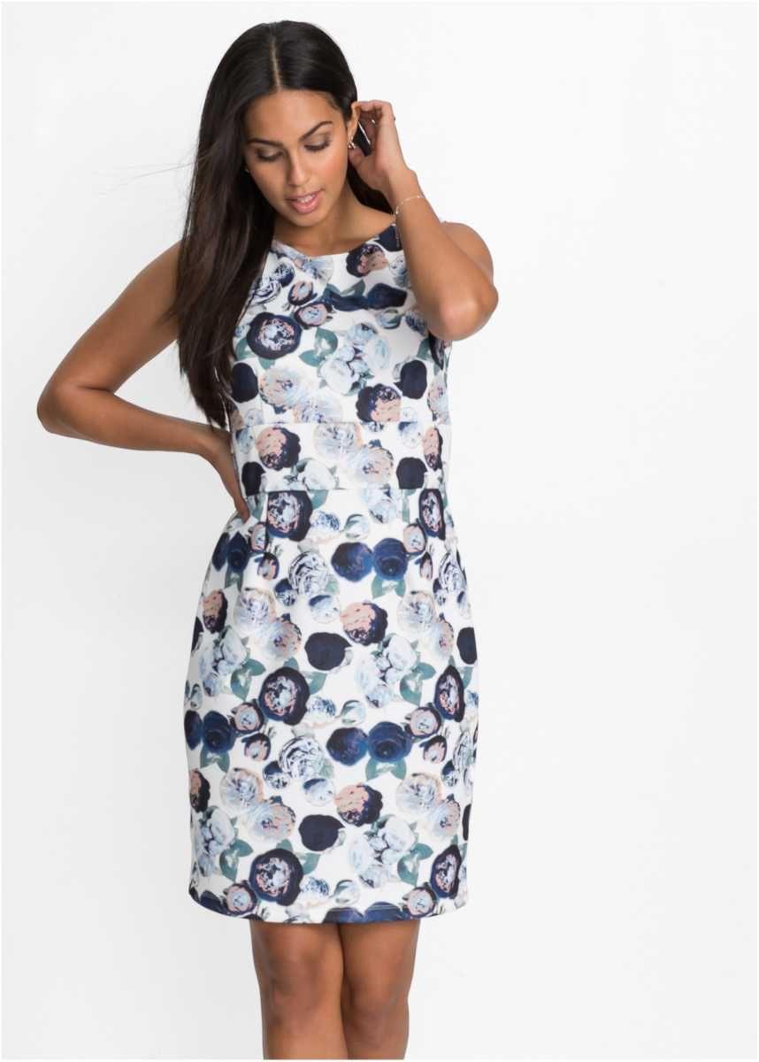 Scubastretchkleid  Kleider Hochgeschlossenes Kleid Und