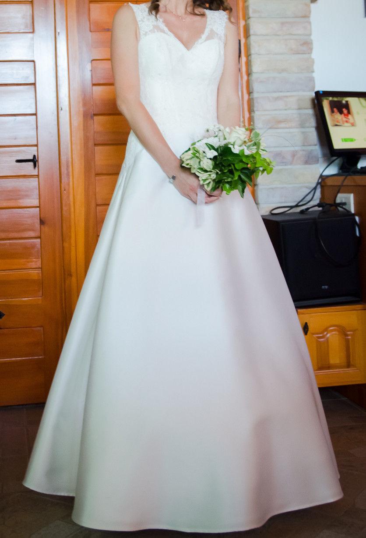 Second Hand Brautkleid  Gr 36  Alinie  Marke