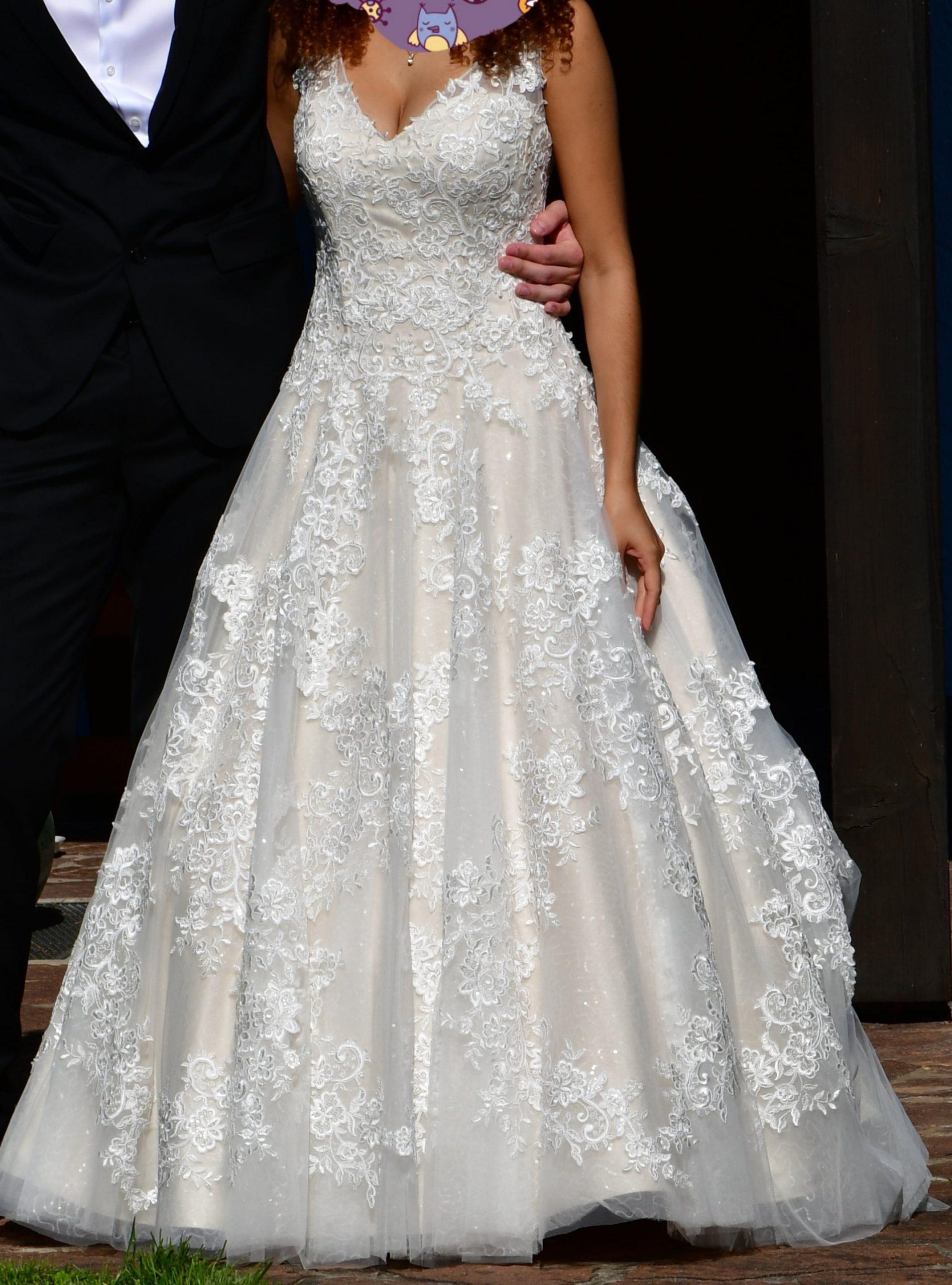 Second Hand Brautkleid  Grö 36  Prinzessin  Marke