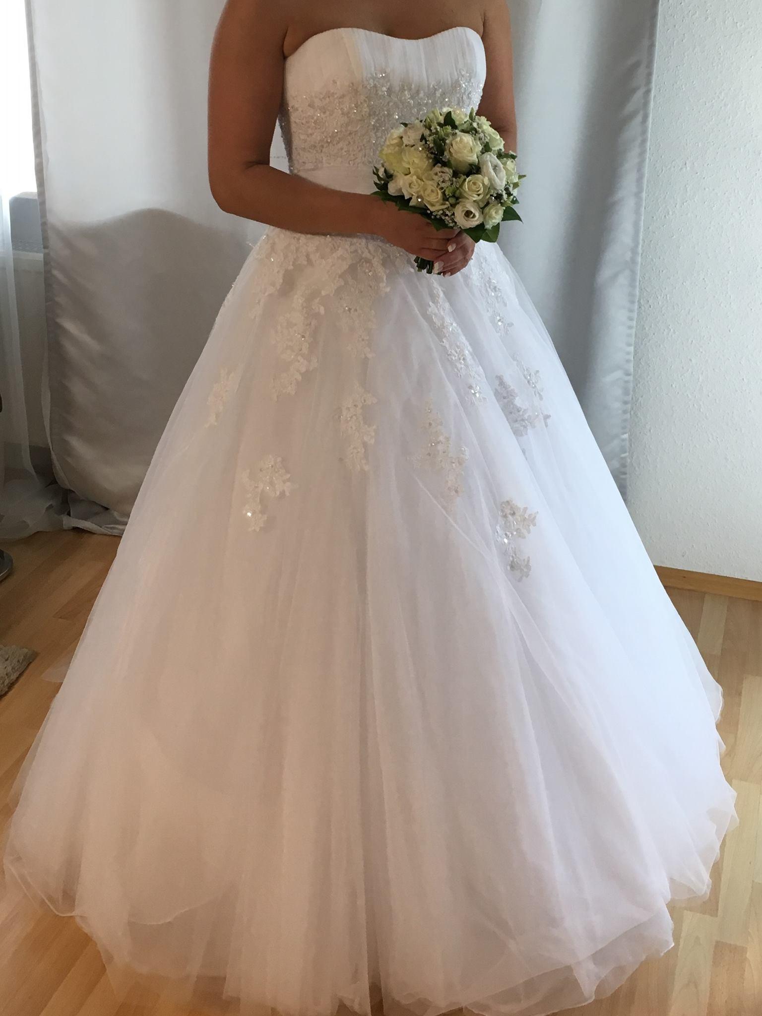 Second Hand Brautkleid  Grö 38  Prinzessin  Marke