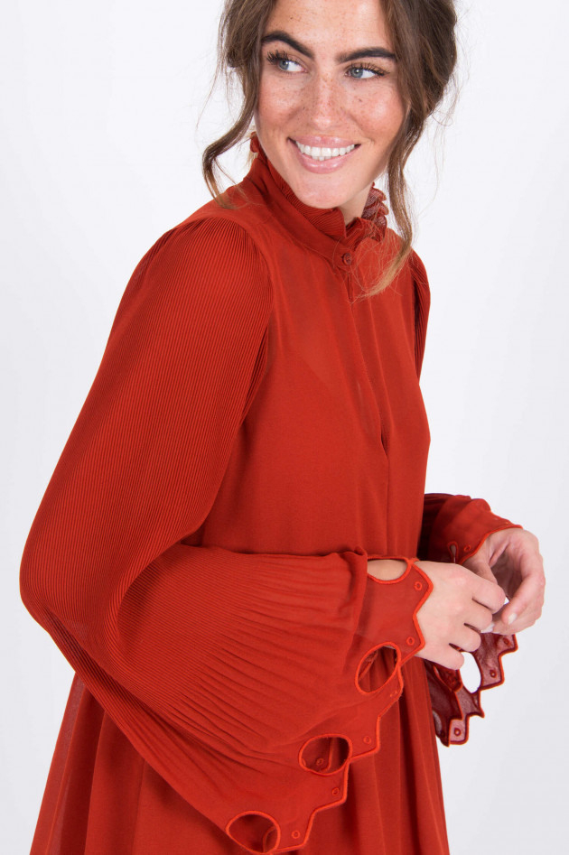 Seechloé Kleid Mit Rüschen In Rot  Gruenerat