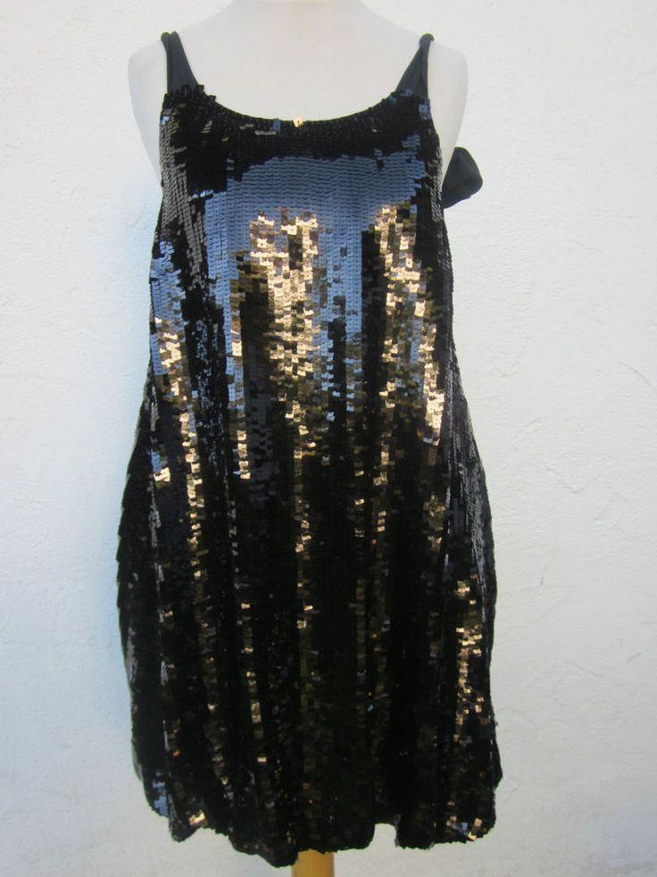 Seechloé Pailletten Kleid 36 S Hochzeit Cocktailkleid