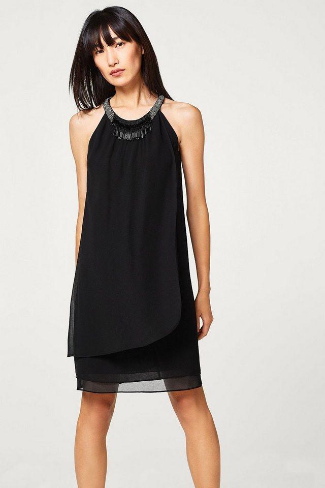 Sehr Schön Esprit Collection Chiffon Kleid Mit Layer