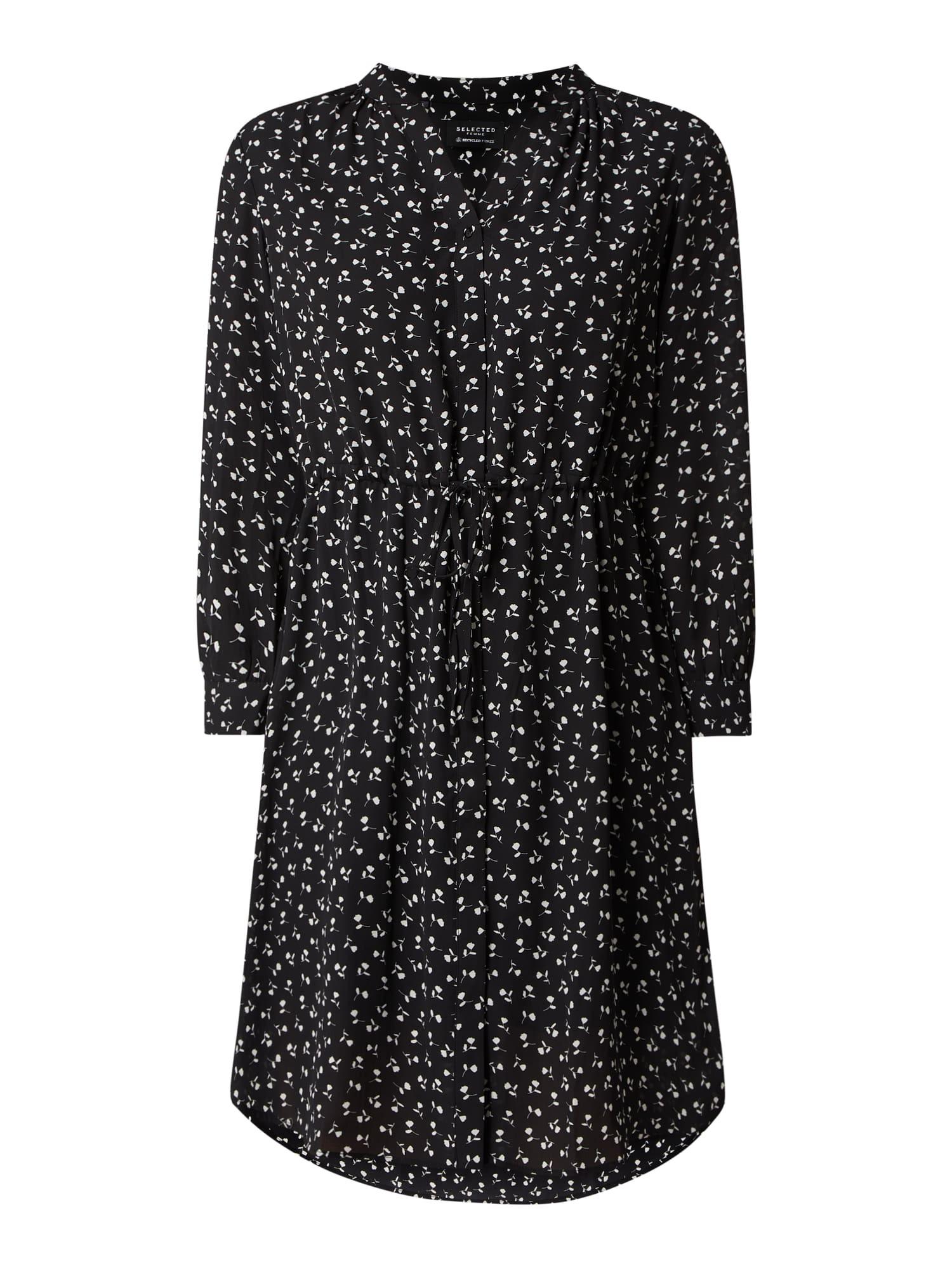 Selected Femme Blusenkleid Mit Allovermuster Modell