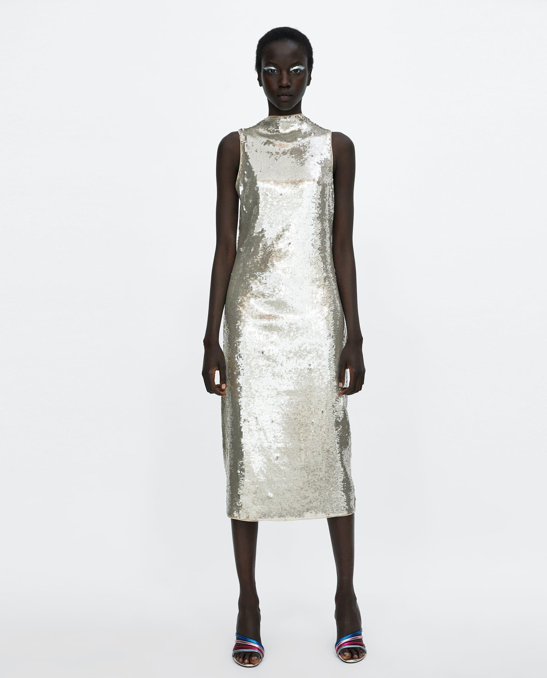 Sequin Dress  Pailletten Kleid Pailletten Paillettenkleid