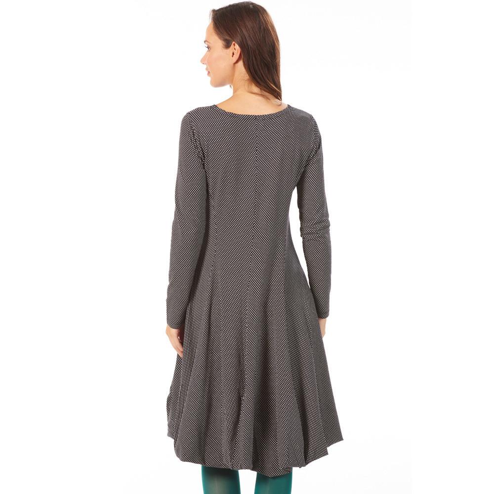 Seute Deern Kleid 'Bubbles' Gepunktet Grau  Kleider