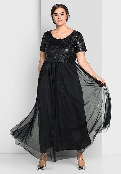 Sheego Abendkleid Für Damen  Maxi Kleider Kleider Und