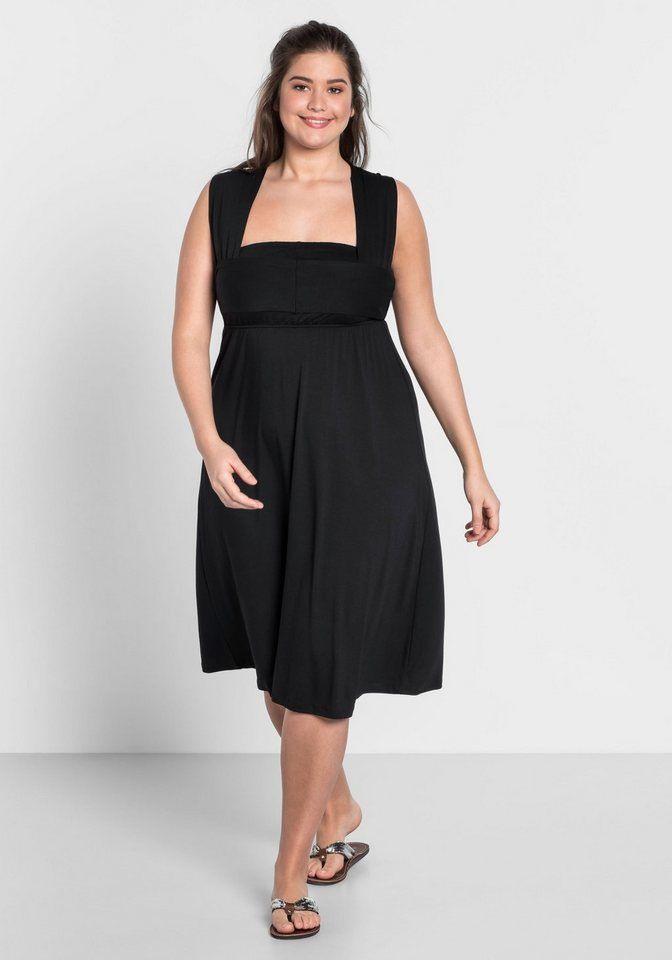 Sheego Jerseykleid Mit Alloverdruck Online Kaufen