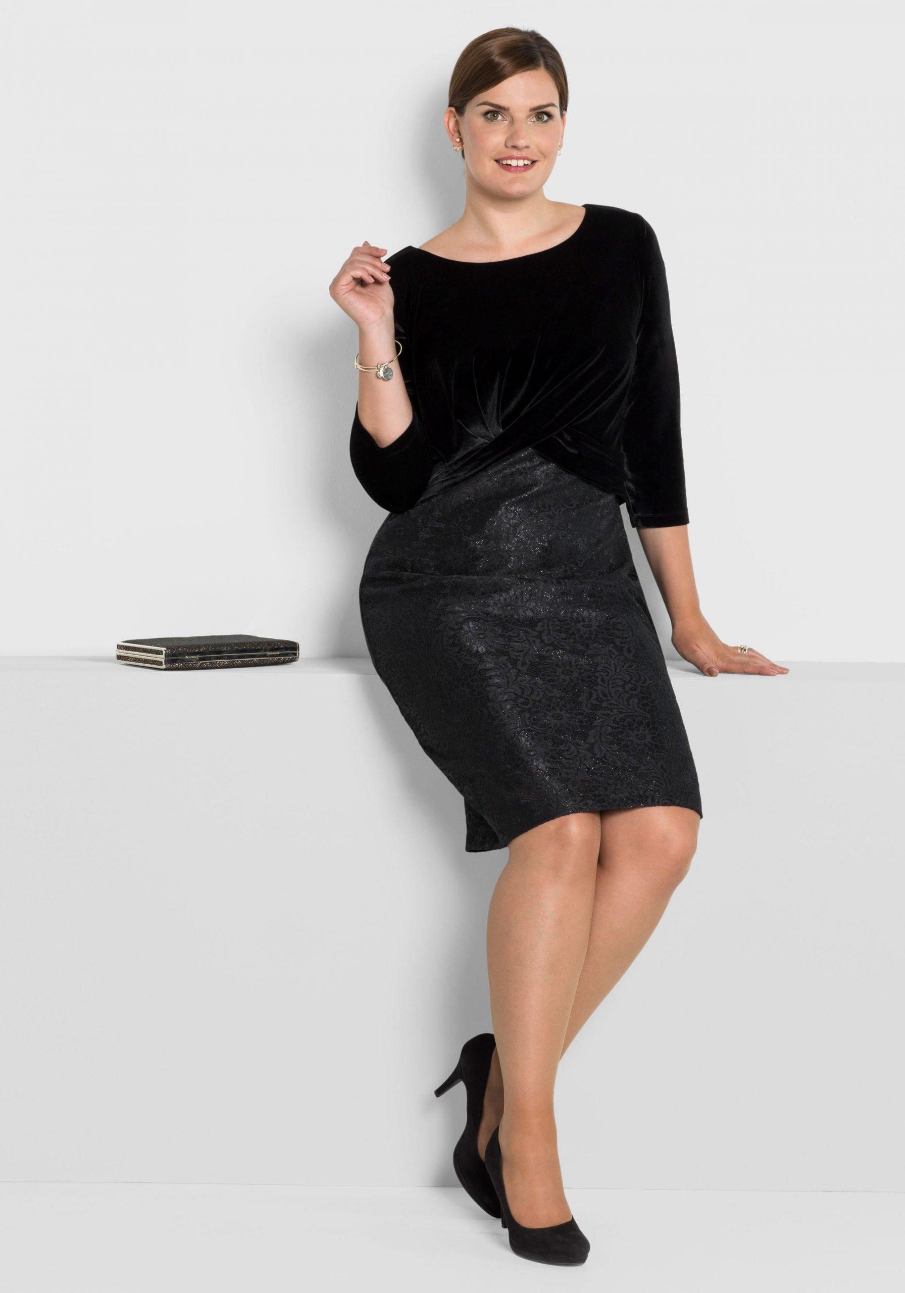 Sheego Partykleid Online Auf Baurde  Party Kleider Mode