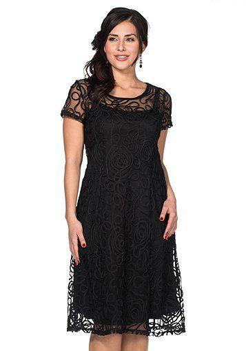 Sheego Style Kleid  Schwarz  Sheego Style  Kleider