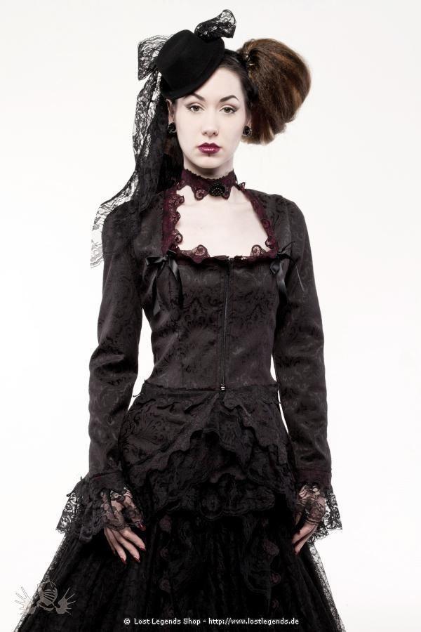 Shelley Steampunk Jacke  Jacken Steampunk Kleidung Und