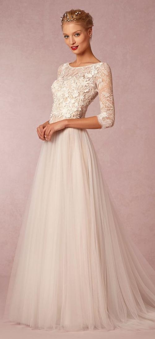 Shop The Look Wedding Prettiesbhldn  Kleider