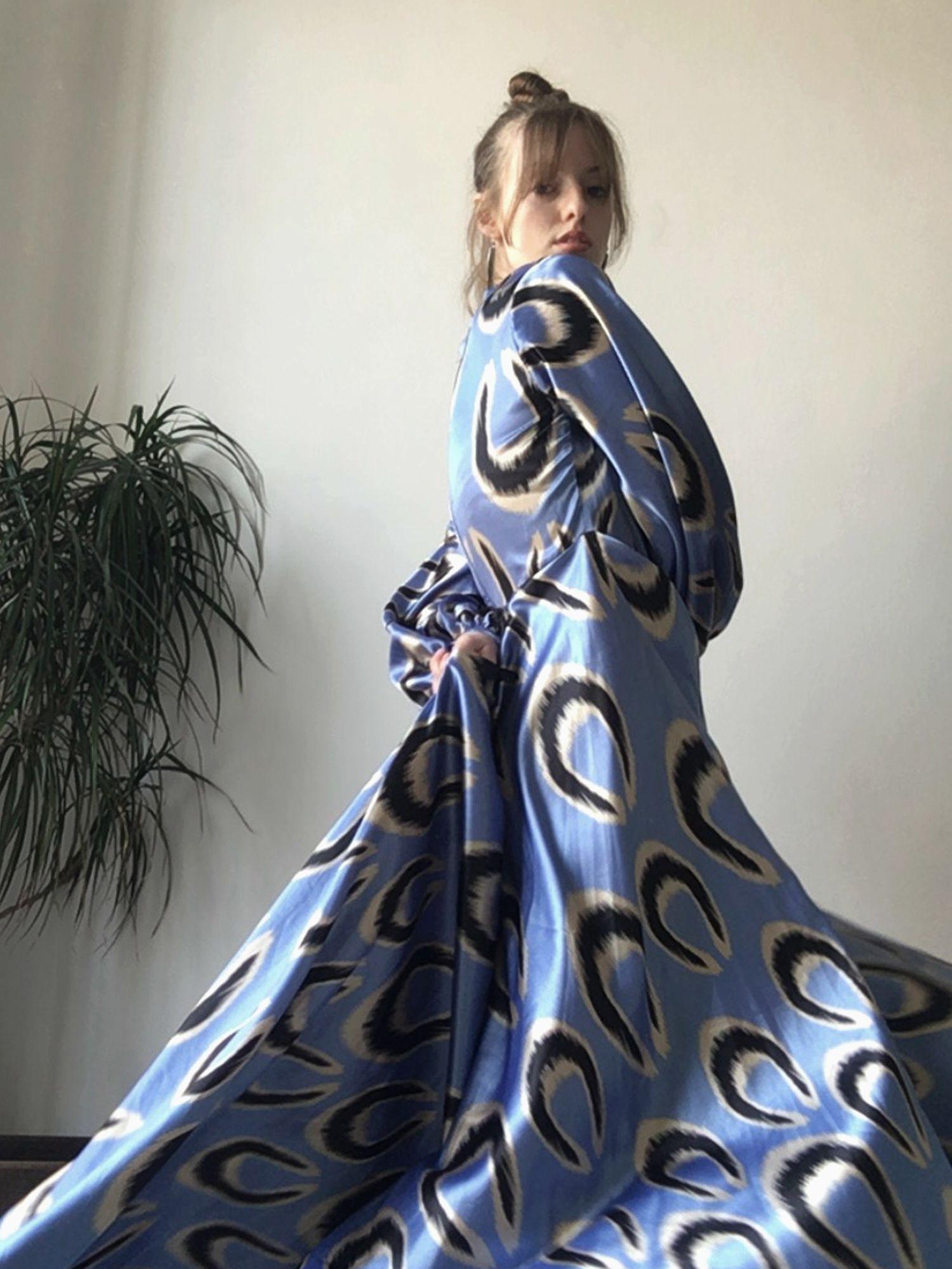 Silk Dress Belle Ikat In 2020
