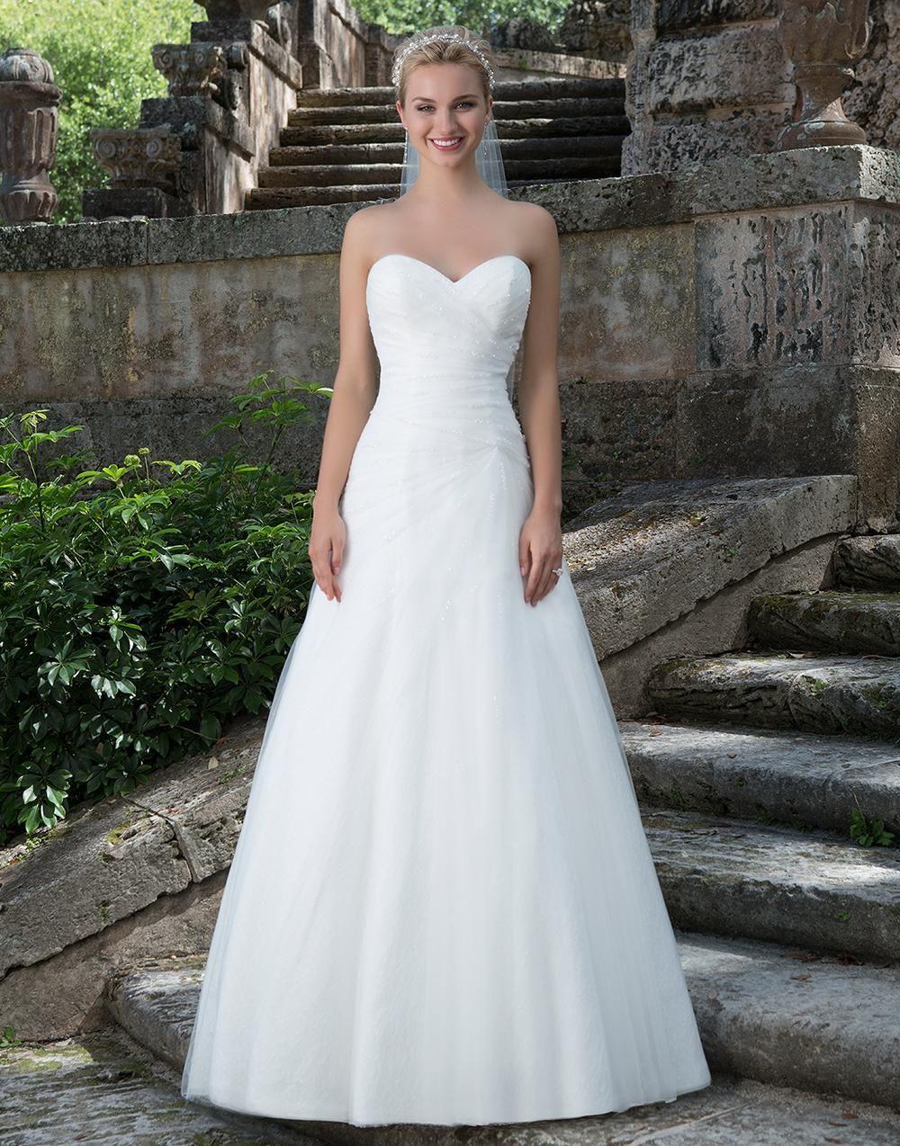 Sincerity 3895  Kleid Hochzeit Sincerity Brautkleider