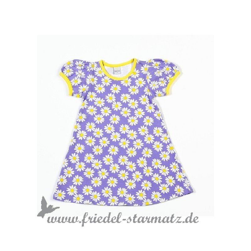 Smallstuff  Kleid Mit Puffärmel Daisy Geblümt L Lavender