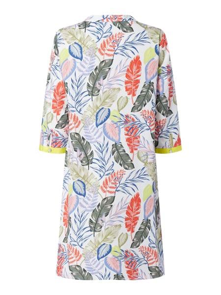 Smith And Soul Kleid Aus Baumwolle Mit Blättermuster In