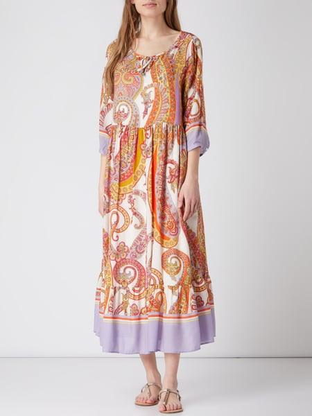 Smith And Soul Kleid Mit Paisleydessin In Weiß Online