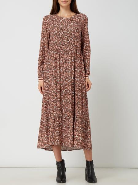 Smith And Soul Kleid Mit Volantsaum In Rosé Online Kaufen
