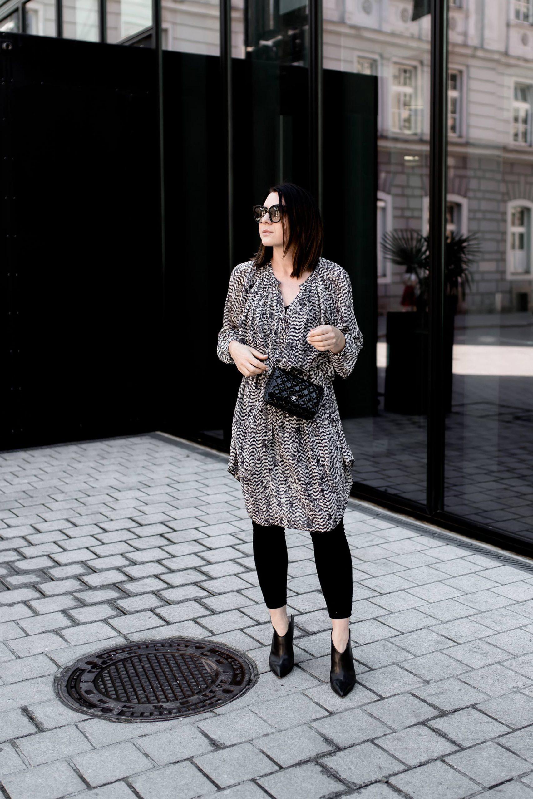 So Style Ich Mein Isabel Marant Kleid Zu Skinny Jeans Und