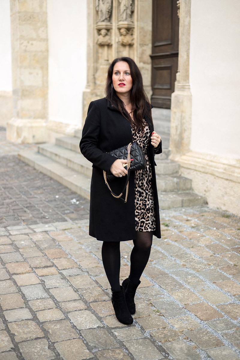 So Style Ich Mein Leoprintkleid Fashion Mode Blog Miss