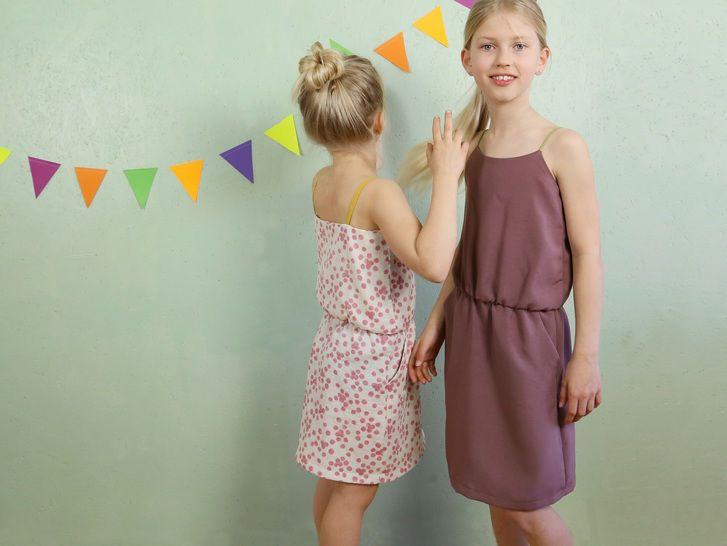 Sofie  Trägerkleid Für Mädchen 110152