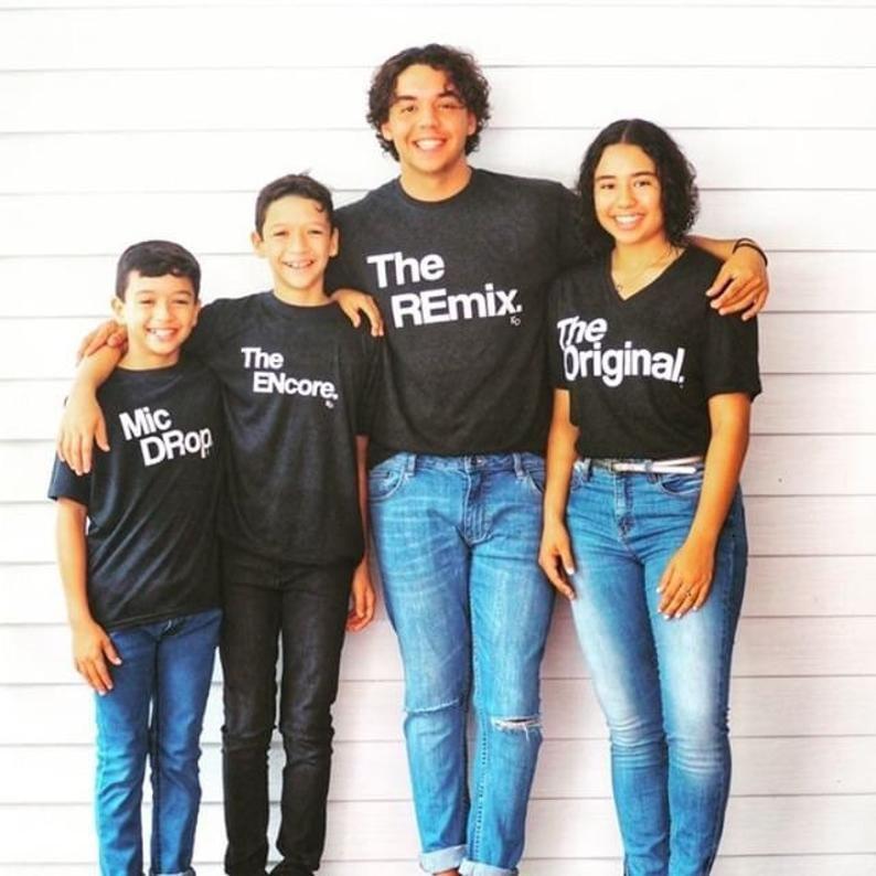 Sohn  Kind  Papa  Original  Remix  Set  Kleidung