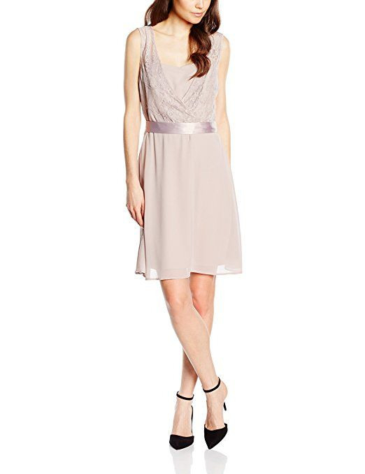 Soliver Black Label Damen Kleid 29603824614 Beige