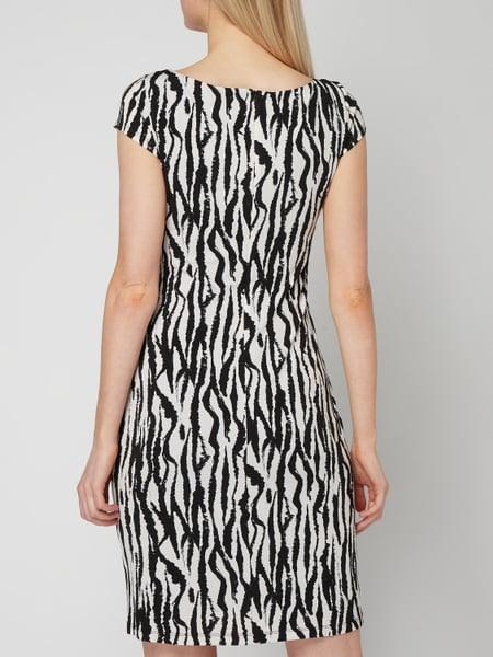 Soliver Black Label Kleid Mit Drapierungen In Weiß Online