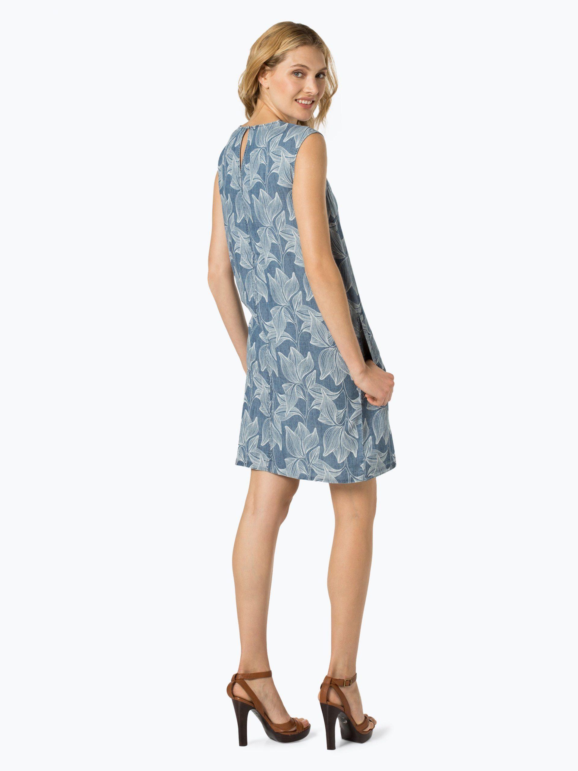 Soliver Casual Damen Kleid Mit Leinenanteil Online