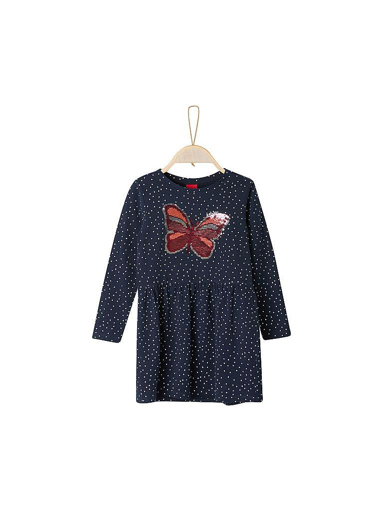 Soliver Mädchen Kleid Blau  92