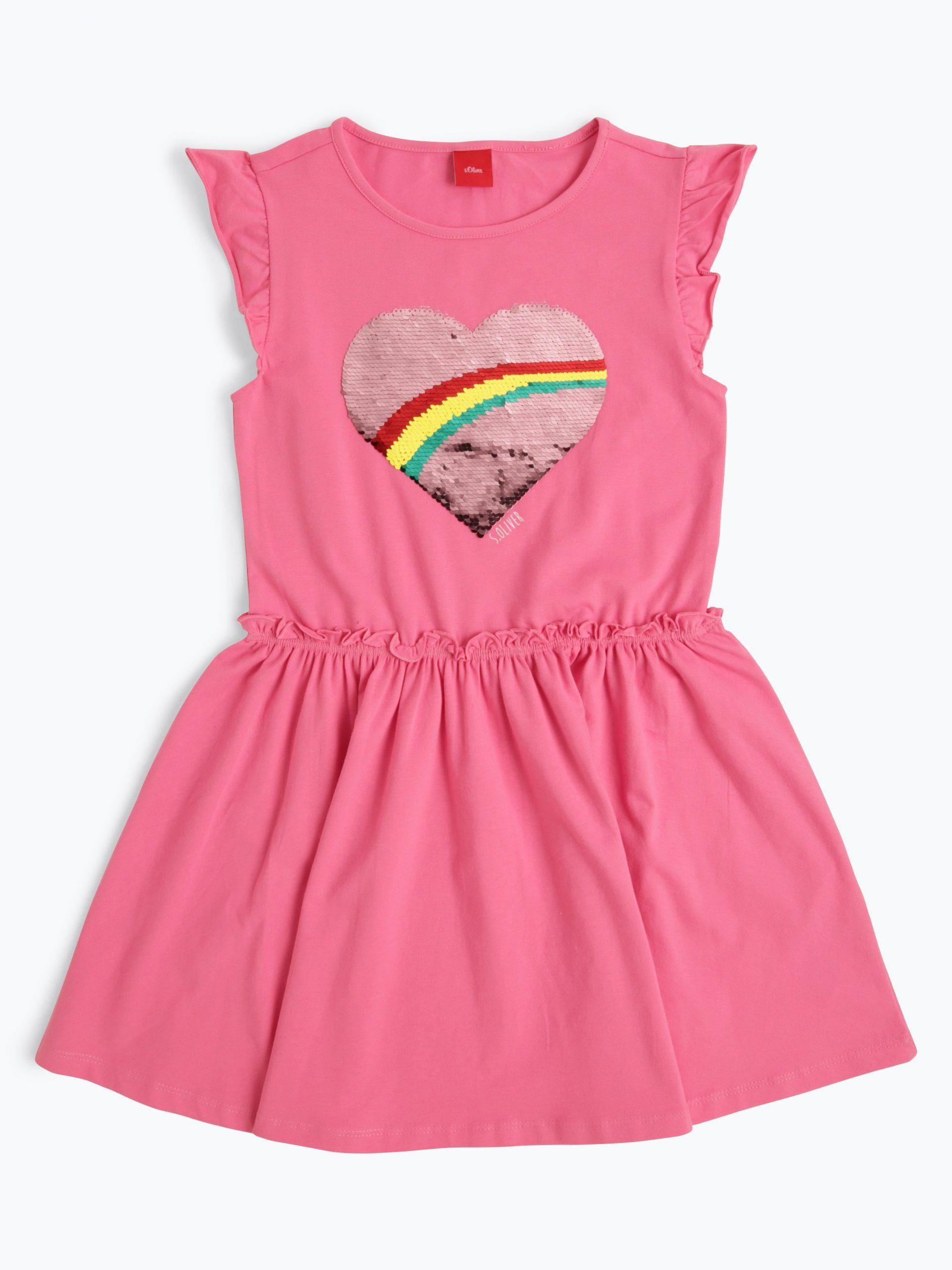 Soliver Mädchen Kleid Online Kaufen  Vangraaf