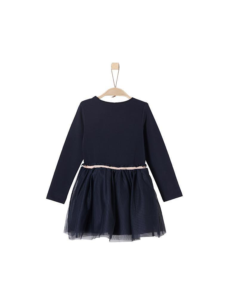 Soliver Mädchenkleid Regularfit Blau  104