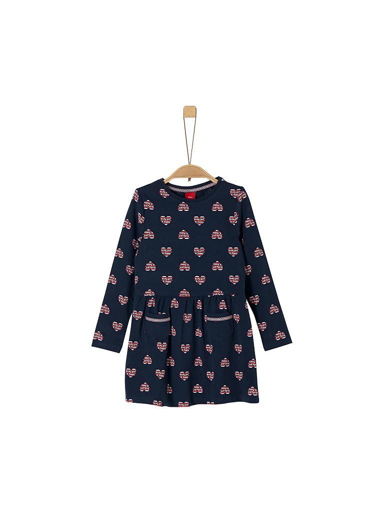 Soliver Mädchenkleid Regularfit Blau  92