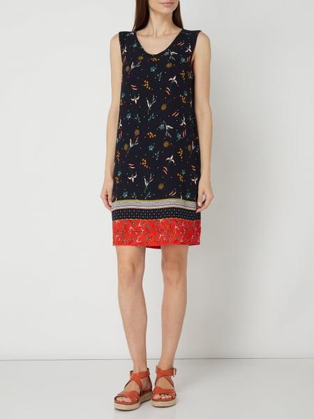 Soliver Red Label Kleid Mit Floralem Muster In Blau