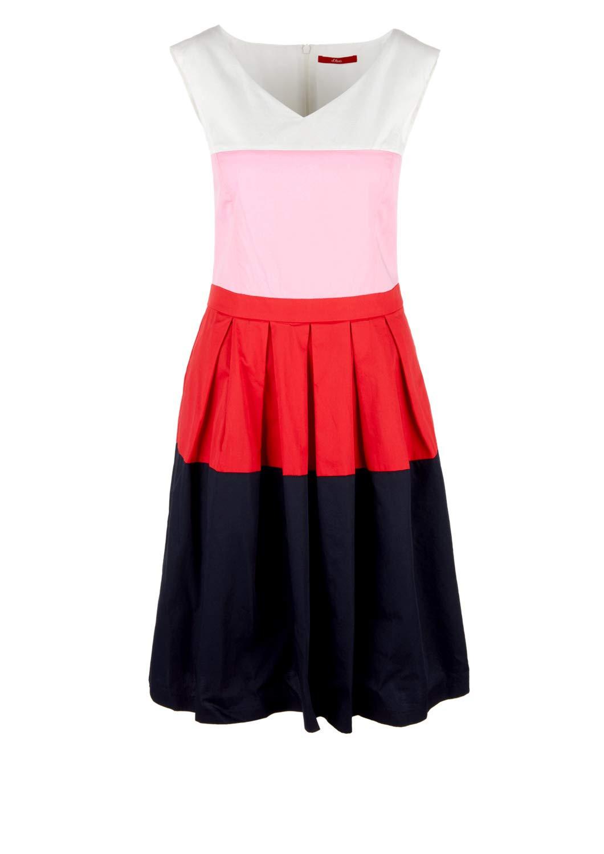 Soliver Sommerkleider Frauen 05904822997 Rot  Outfits24De