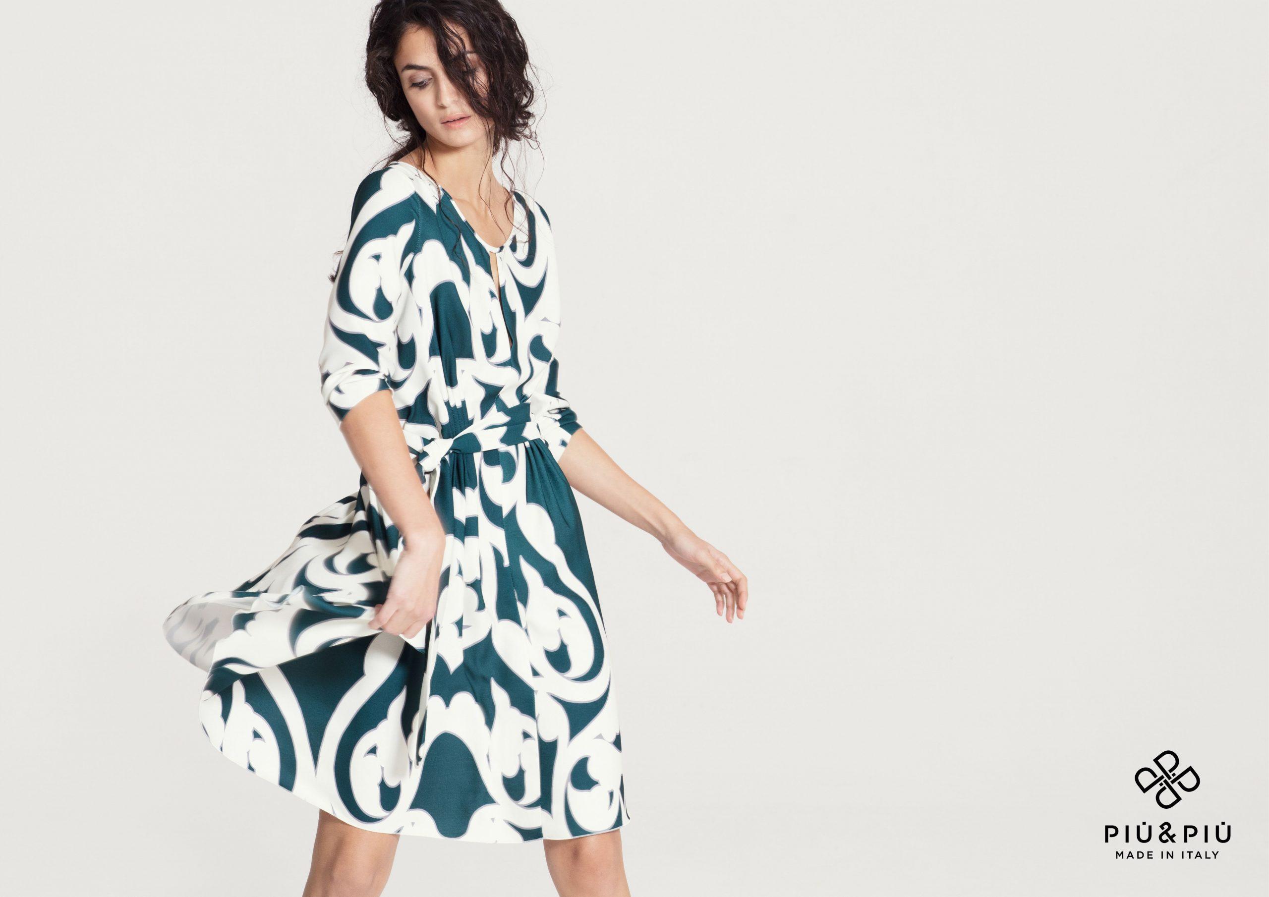 Sommer 2017 Kleid Muster Piu  Piu  Sommer Kleider