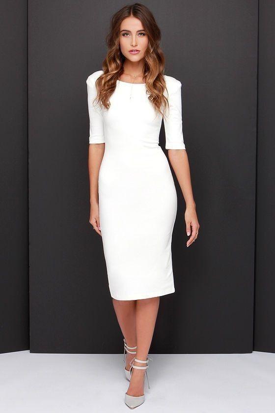Sommer Büro Kleid Frauen Figurbetontes Kleid 2016 Verband
