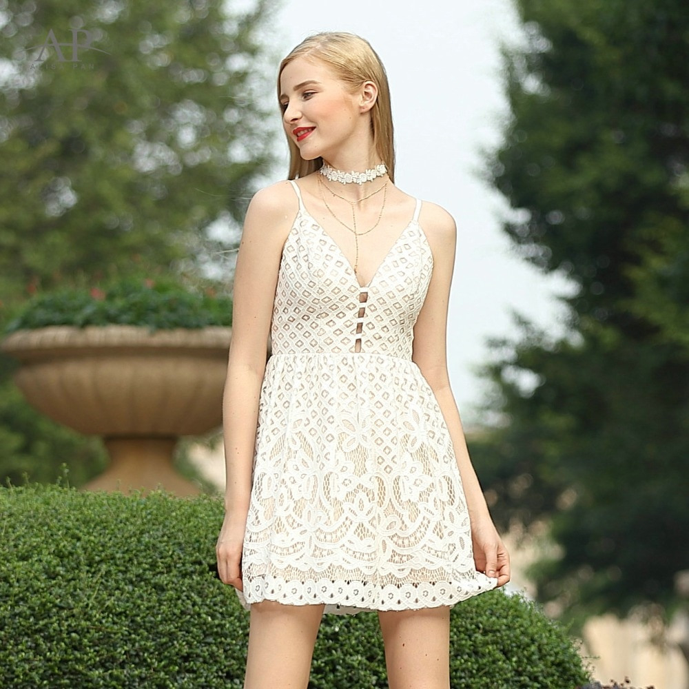 Sommer Kleid Alisa Pan As05615Cr Sexy Nette Frauen Mode