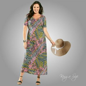 Sommer Kleid / Freizeitkleid / Etuikleid / Sommerkleid